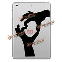 Hat-Prince двойные руки декоративная съемная беспузырьковый самоклеящаяся наклейка для iPad7.9-дюйма