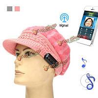 Беспроводная связь Bluetooth смарт мягкий Cony волосы наушники крышка гарнитура динамик микрофон шлема