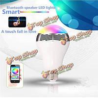Bl05 Bluetooth  v4.0 времени LED лампы Music аудио динамик для iPhone