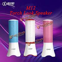 M12 Mini портативный динамик портативный компьютер смартфоны планшетный ПК USB Flash свет спикер