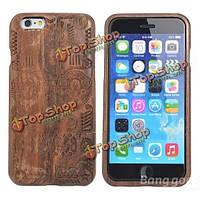 Original природных деревянный чехол жесткий футляр для iPhone 6