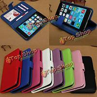 Магнитные Flip PU кожаный фото бумажник карты чехол для iPhone 6 Plus