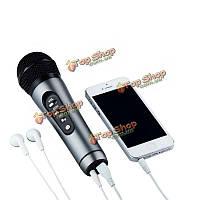 Tuxun KF301мини портативный караоке микрофон FM беспроводной автомобиля  движущегося КТВ комната для смартфонов iPhone
