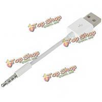 Данных USB и кабель для зарядки для Apple Ipod перетасовать 1 2