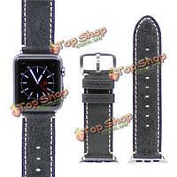 Kajsa тонкий ремешок старинных кожаный ремешок смотреть полосы браслет для Apple Наблюдать 42мм