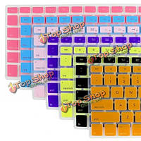 Водонепроницаемый нас клавиатура кожи полая пленка для MacBook Pro 17 дюймов