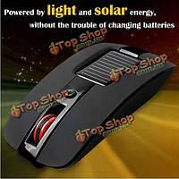 Мульти-функция 4 ключи SUN энергии 2.4 ГГц беспроводная оптическая мышь