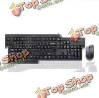Набор A4Tech wkm-1000 водонепроницаемый USB провод клавиатуры оптических иглы фотоэлектрический