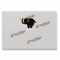 Слон мультфильм шаблон деколь кожи наклейка для Mac Book/Pro/воздух/сетчатке ноутбук