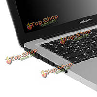Красочный мягкий силикон анти-набор портов штепселя пыли для MacBook Pro 13.3 15.4