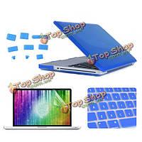 Enkay Crystal защитный клавишный фильм экрана покрытия раковины анти-штепсель пыли установлен для MacBook PRO 15.4-дюймов