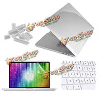 Enkay Crystal оболочки клавиатура крышка экран фильма анти пыль плагин установлен на MacBook PRO сетчатки 15.4-дюймов