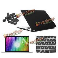Матовое стекло enkay защитный клавишный фильм экрана покрытия раковины анти-штепсель пыли установлено для MacBook Air 11.6 дюймов