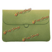 Мягкая кожаная сумка мешка Втулки для MacBook Pro воздуха 13 дюймов