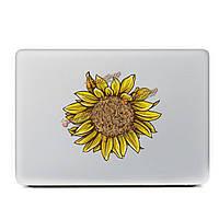 Подсолнечное пропуск ноутбук кожи стикер винила стикер пропуск для Apple MacBook 11'' 12'' 13'' 15'' 17''