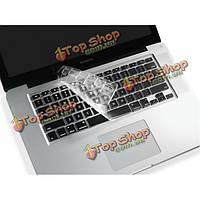 13 15 17-дюйма прозрачная крышка клавиатуры для MacBook US клавиатура