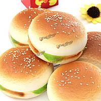 1шт милый мягкий болотистый гамбургер хлеб очарование брелок сумка ремешок декора для случайных iPhone sumang