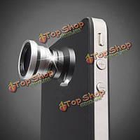 3в1  объектив камеры широкоугольный для iPhone смартфона