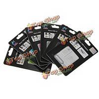 Нано микро сим карта адаптер конвертера извлечения контактов для iPhone 4S и 4G с 5 5г