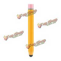Универсальный металлический карандаш форма емкостной сенсорный Стилус для iPhone iPad планшетный ПК сотовый телефон