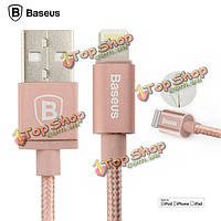 Baseus MFI сертификат USB кабель для передачи данных металлические Lightning 1м для Apple iPhone iPad Сделать ставку