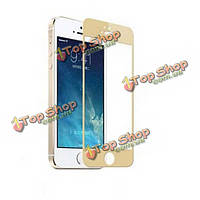 Красочные закаленное стекло пленки Защитные пленки для iPhone 5 5s и 5С