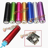 PowerBank USB чехол комплект аккумуляторов 18650 зарядное устройство DIY коробка