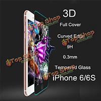 ReMax 3D изогнутый Edge закаленного стекла полное покрытие экрана защита защитная пленка для iPhone 6 6s 4.7