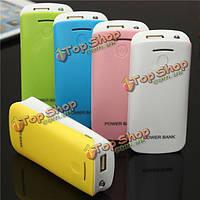 DIY 2*18650 батарея PowerBank зарядное устройство для iPhone смартфон