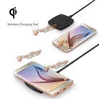 T-600 ци беспроводной зарядное устройство док-станция для зарядки площадку с USB кабель для iPhone 6s Samsung Galaxy S6/EDGE