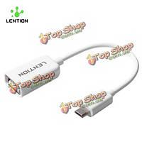 Lention Micro-USB 2.0 OTG адаптер зарядки кабель для передачи данных передача универсальный для планшетных ПК Самсунга HTC
