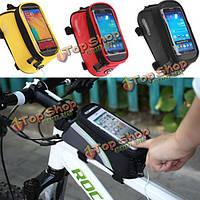 Roswheel Велоспорт велосипед сенсорный экран сумка для iPhone 6 Plus