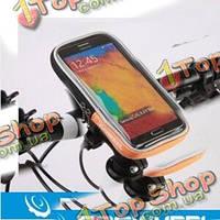 Быстрое освобождение roswheel сенсорных велосипедов gps держатель место трубки кронштейн мобильных сумка для iPhone