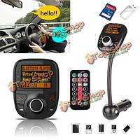 Автомобильный Bluetooth громкой связи авто FM трансмиттер модулятор TF для MP3-плеер USB зарядное устройство