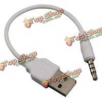 USB кабель синхронизации зарядное устройство кабель для iPod shuffle 2-го поколения