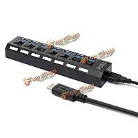 USB 3.1 Type-C до RJ45 Ethernet Gigabit LAN сеть с 3.0 3-портовый концентратор кабеля адаптера