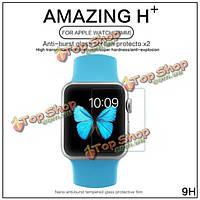NillKin Amazing H+ нано ударопрочный закаленное стекло защита костюм для Apple часы 38мм
