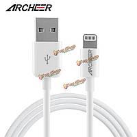 Original archeer 8-контактный кабель USB синхронизации и зарядное устройство Lightning данных для iPhone iPad Сделать ставку