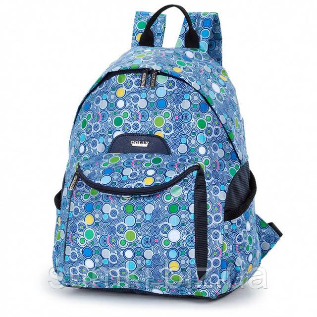 Рюкзак школьный для подростка девочки 5 11 класс вид спереди