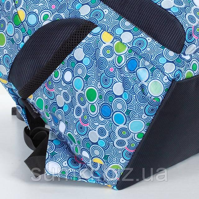 Специальные карманчики по бокам в Рюкзаке школьном для подростка девочки 5 11 класс