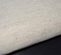Равномерная ткань - серая, под лен, как мешковина (Украина)