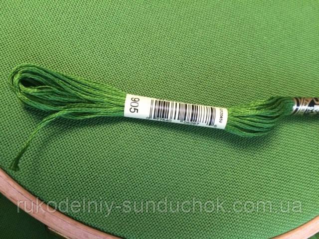 Равномерная ткань - зелёная (Украина)