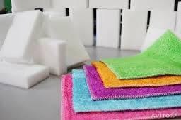Салфетки и губки для уборки