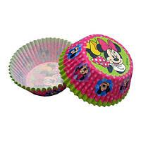 Форма для кексиков Минни Маус в розовом
