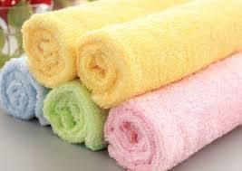 Бамбуковая тряпочка для мытья посуды и уборки дома