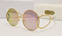 Женские солнцезащитные очки Chloe ce 124 розовая линза, фото 1