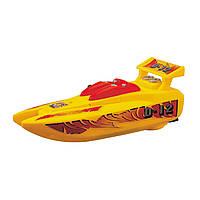 """Игрушечные машинки и техника «Dickie Toys» (3772002) скоростной катер """"Wave Fun"""", 18 см (жёлтый)"""