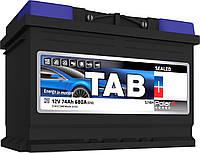 Аккумулятор TAB Polar S 45Ah/ пусковой ток 400A, гарантия 36 месяцев