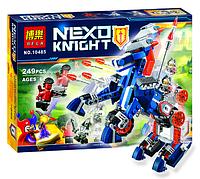 """Конструктор Bela Nexo Knight 10485 """"Ланс и его механический конь""""  (249 дет) KK"""