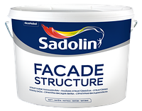 Sadolin FASADE STRUCTURE Структурная фасадная краска 5 л